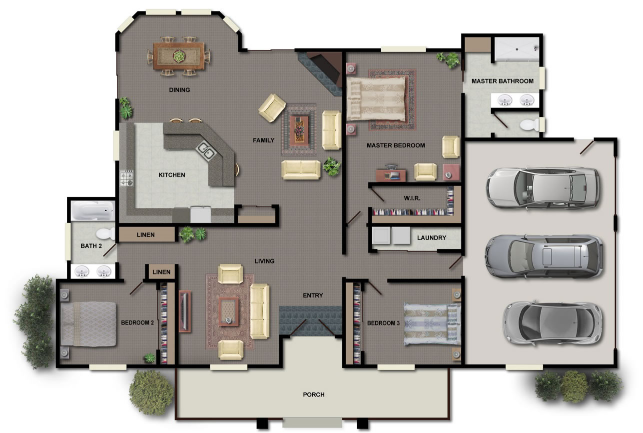 Houses for sell and to rent luso property service for Floor plan services